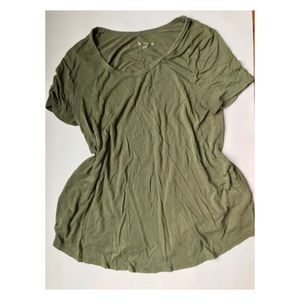 Merona Green Swing Shirt